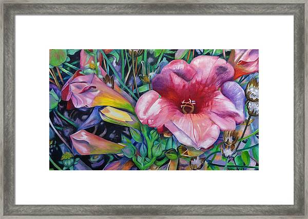 Fragrant Blooms Framed Print