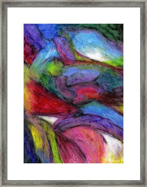 In The Process Of Change Framed Print by Cassandra Donnelly