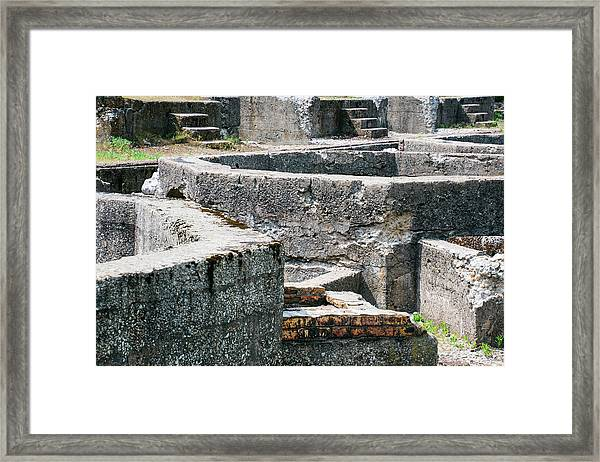 In The Ruins 6 Framed Print