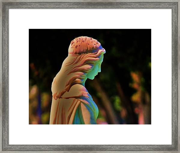 In The Shadow Of A Rainbow Framed Print