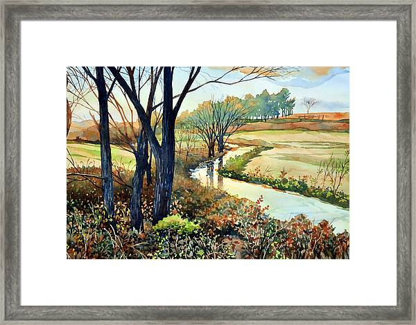 In The Wilds Framed Print