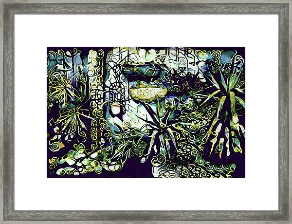 In The Wintergarden Framed Print