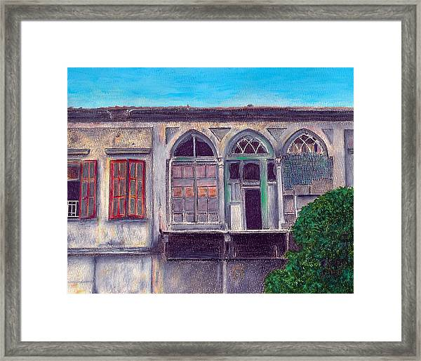 In Their Day Framed Print