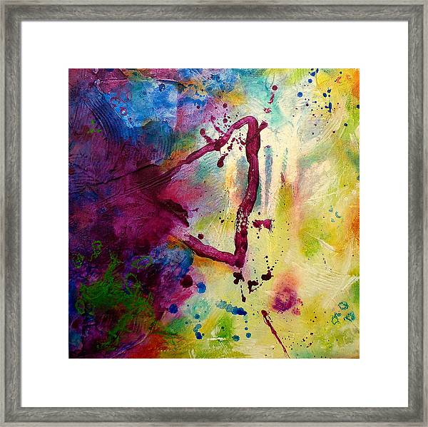 In This Moment Framed Print