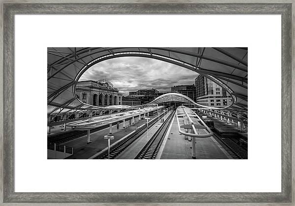 In Transit Framed Print