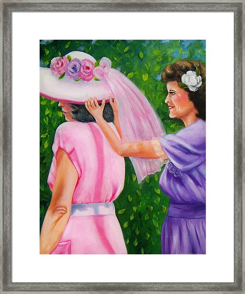 In Your Easter Bonnet Framed Print