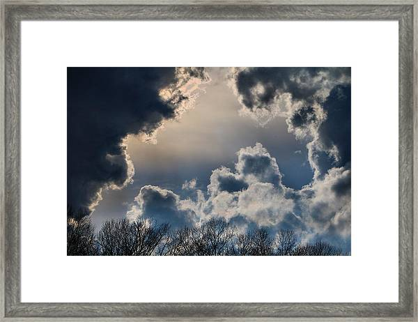 Incredible Clouds Framed Print