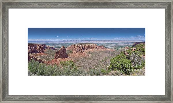 Independence Pano Framed Print