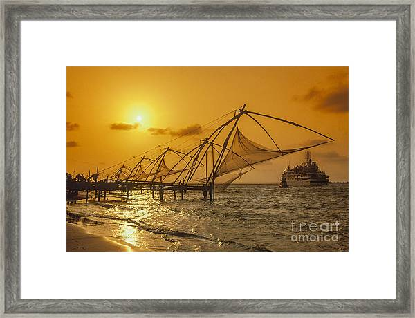 Framed Print featuring the photograph India Cochin by Juergen Held