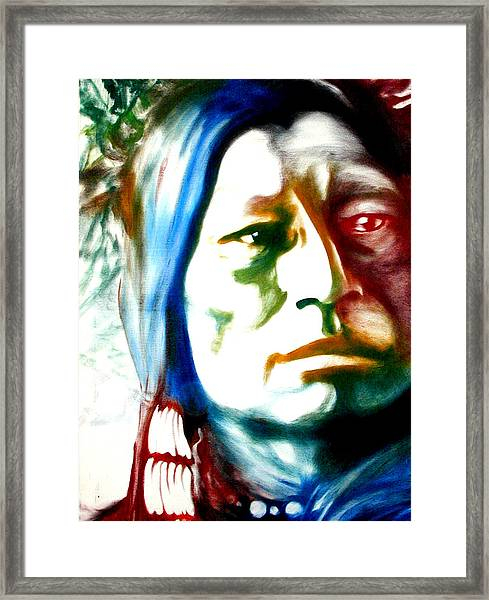 Indian 1 Framed Print