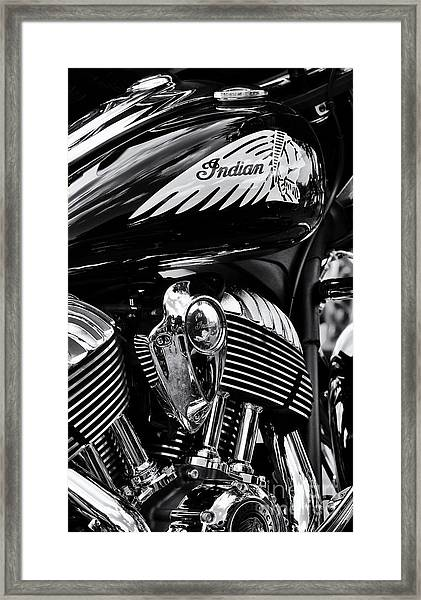 Indian Chieftain Framed Print