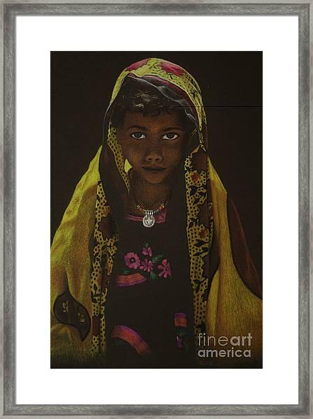 Indian Child Framed Print