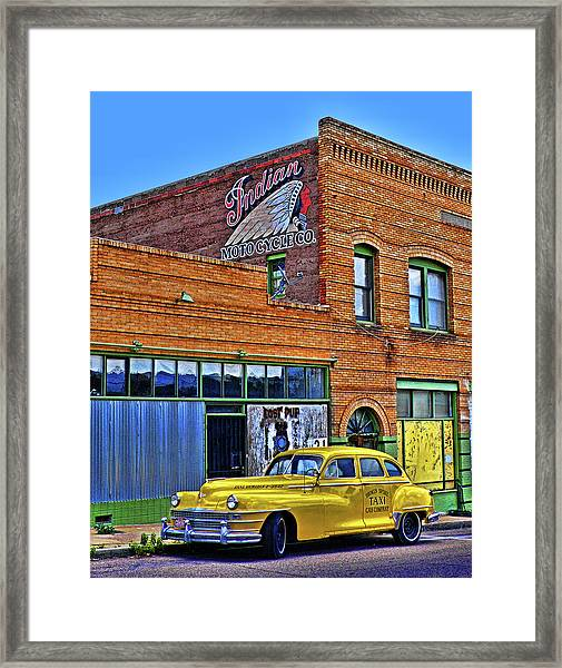 Indian Motocycle Co. Framed Print