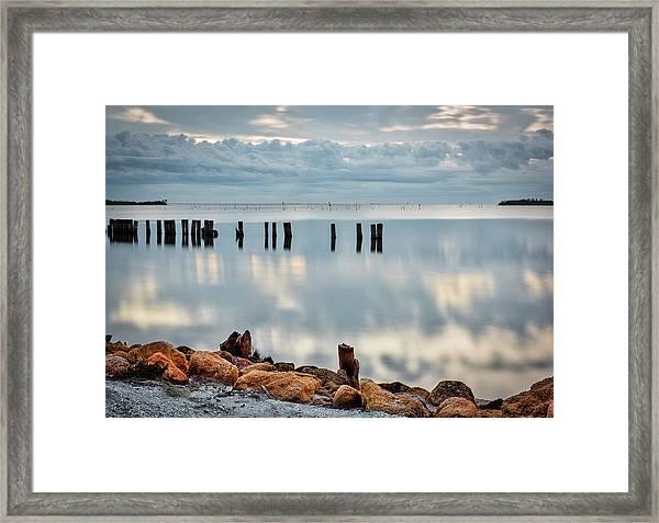Indian River Morning Framed Print