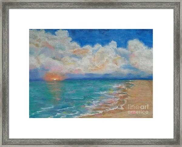 Indian Shores Framed Print