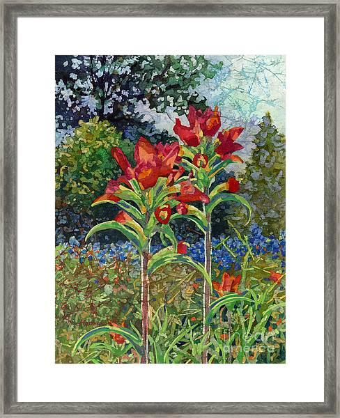 Indian Spring Framed Print