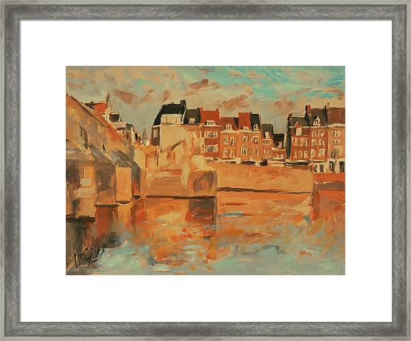 Indian Summer Light Maastricht Framed Print