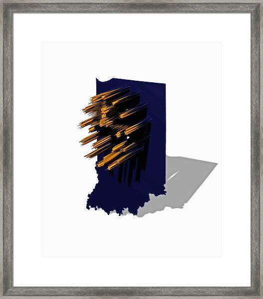 Indiana 6a Framed Print