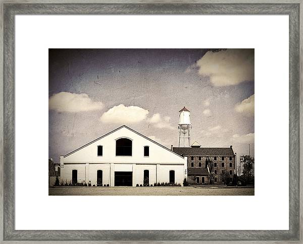 Indiana Warehouse Framed Print