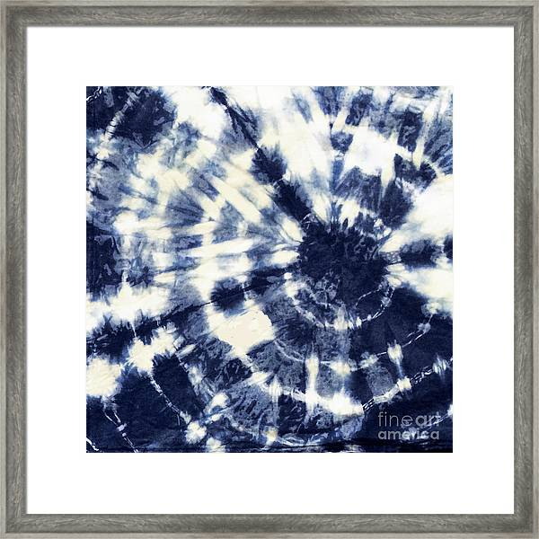 Indigo Iv Framed Print