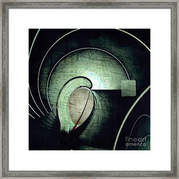Industrial Arch Grey Framed Print