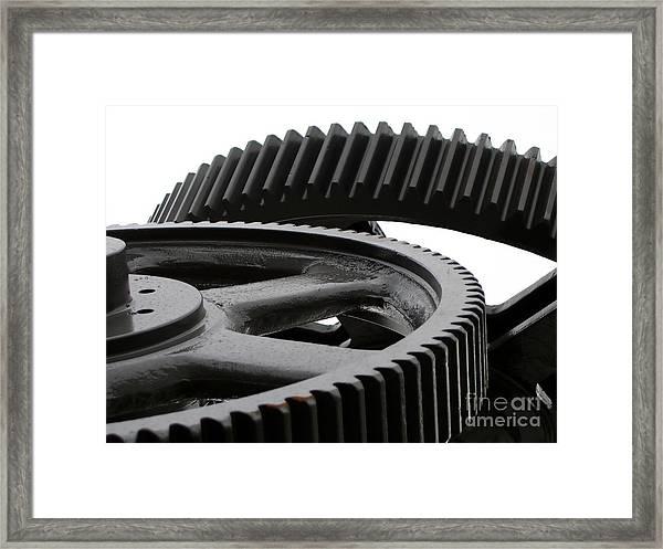 Industrial Concept Framed Print