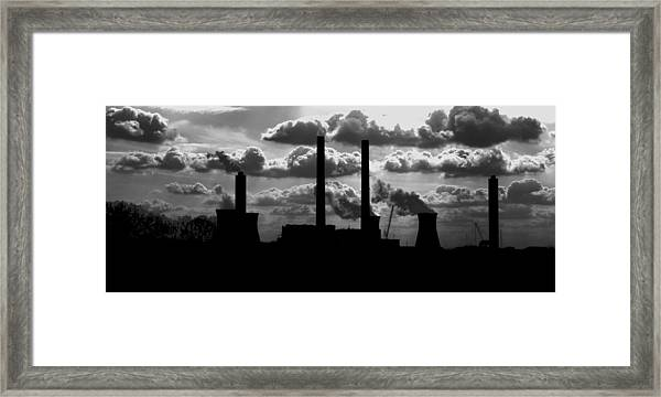 Industrial Night Framed Print