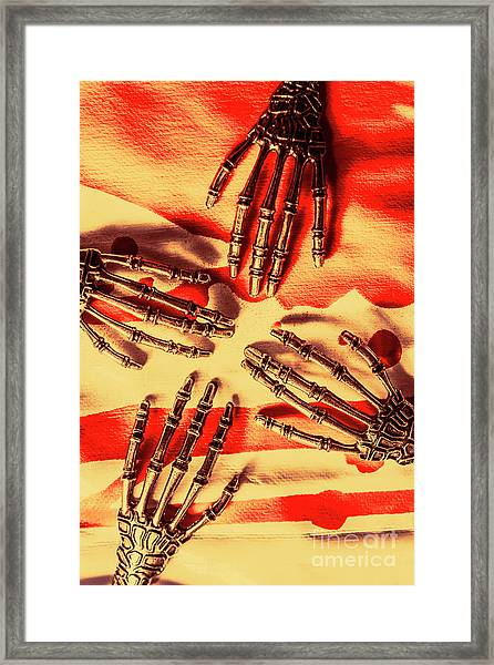 Industrial Death Machines Framed Print