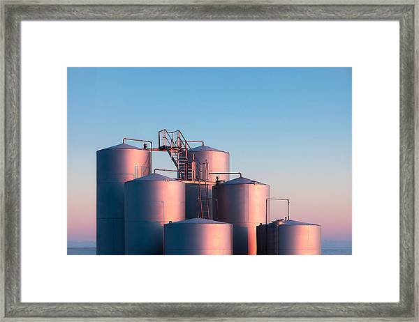 Industrial Hue Framed Print