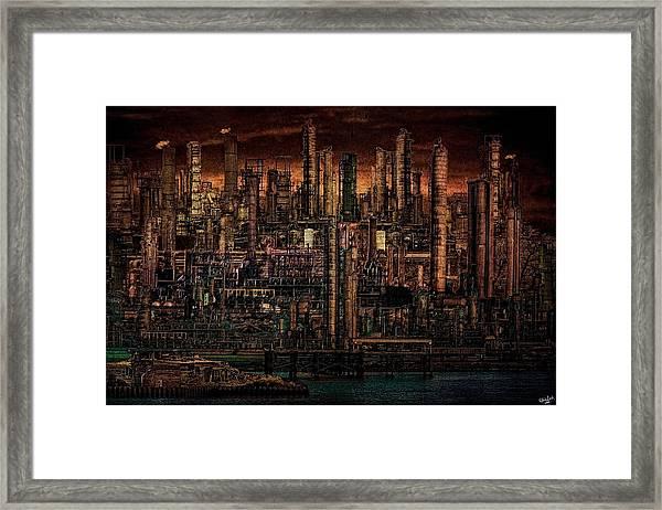 Industrial Psychosis Framed Print