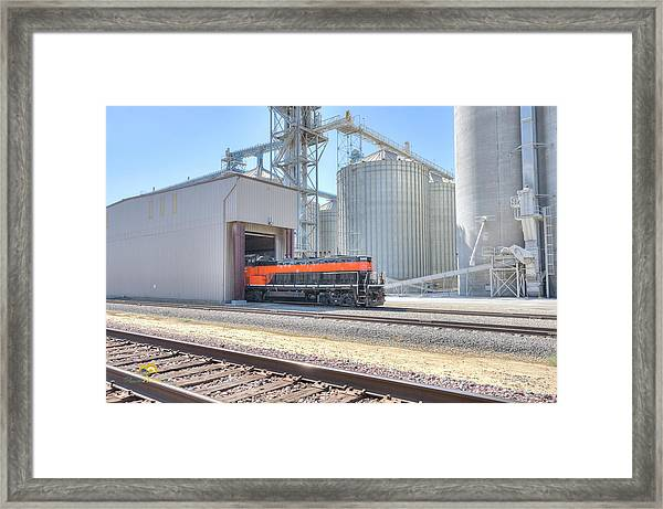 Industrial Switcher 5405 Framed Print