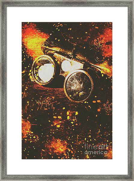 Industry Of Artistic Creations Framed Print