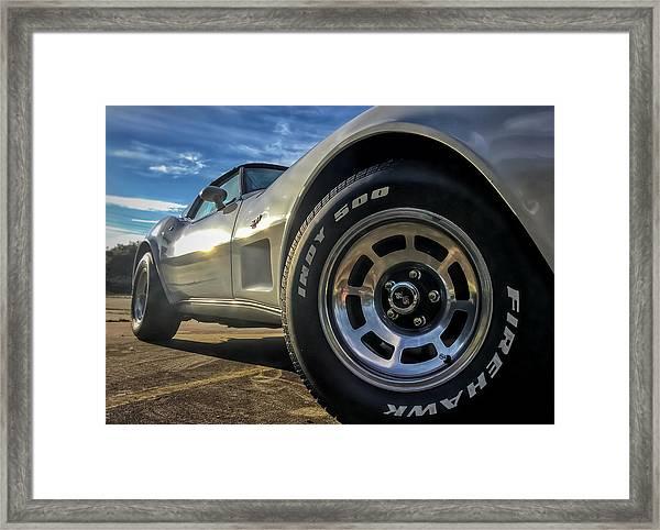 Indy 500 Color Framed Print