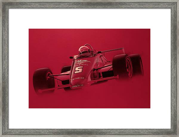 Indy Racing Framed Print