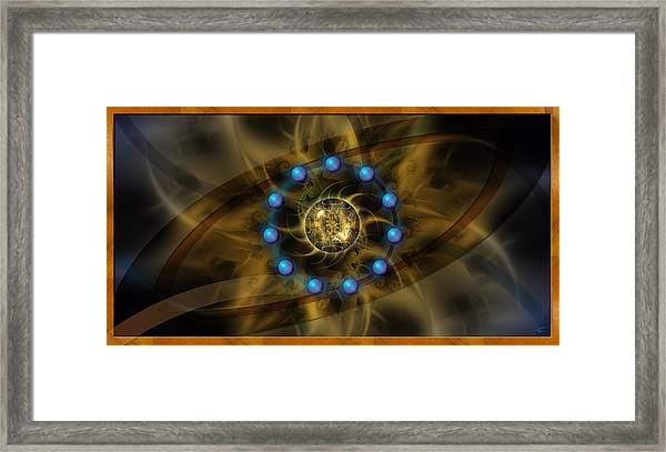 Infinite Lotus Framed Print