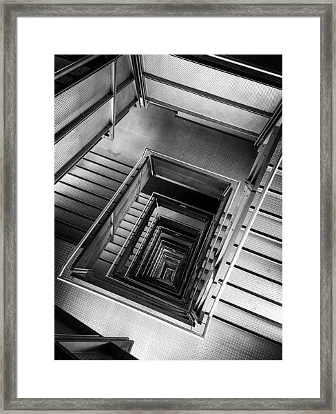 Infinite Well Framed Print
