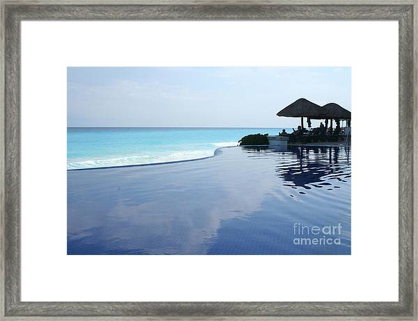 Infinity Pool Framed Print