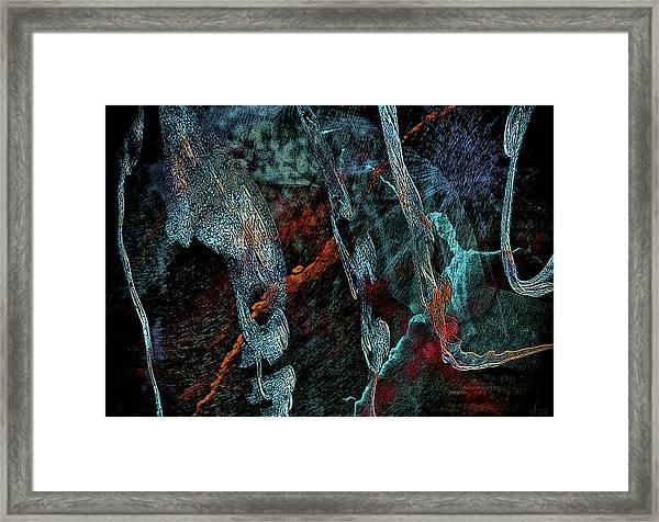 Inhabited Space Framed Print