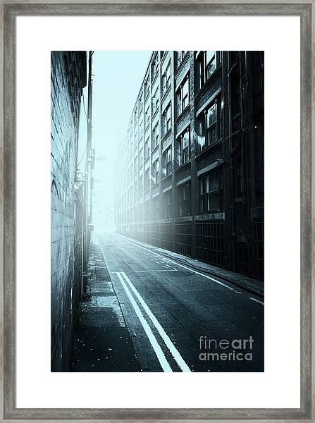 Inner City Blues Framed Print