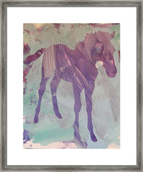 Framed Print featuring the painting Innocence by Candace Shrope