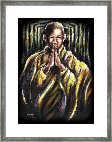 Inori Prayer Framed Print