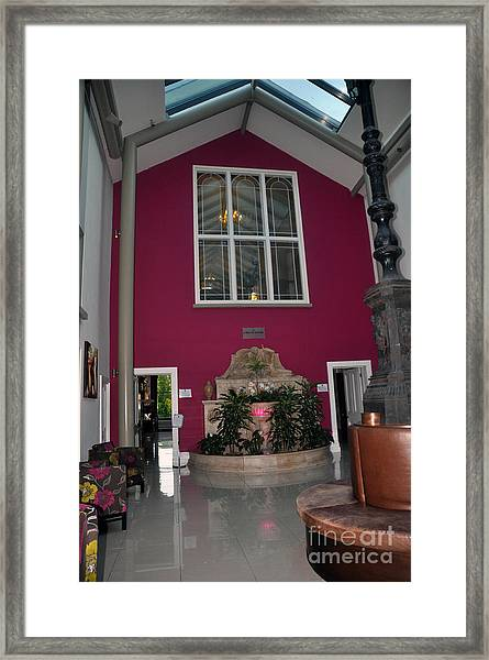 Inside Entry Lyrath Estate Hotel Framed Print