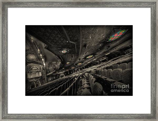 Inside Fox Theater Framed Print