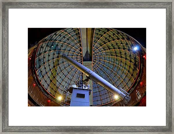 Inside Lick Observatory Framed Print