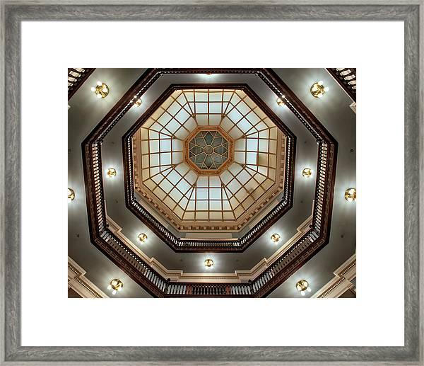 Inside The Dome Framed Print