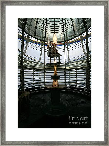 Inside The Lens Framed Print