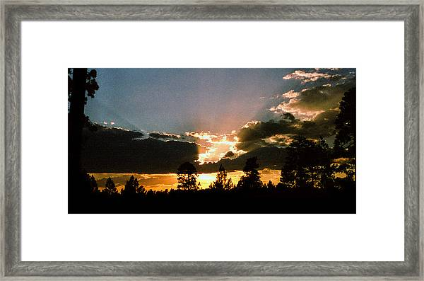 Inspiration Sunset Framed Print