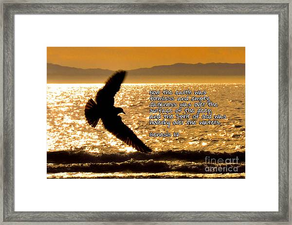 Inspirational - On The Move Framed Print