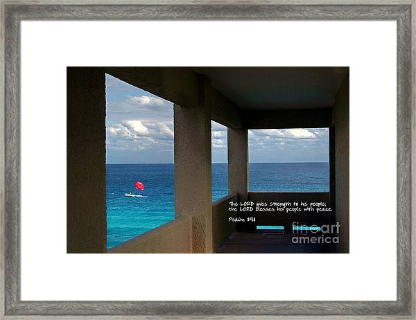 Inspirational - Picture Windows Framed Print