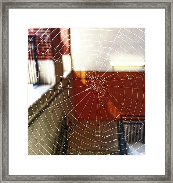 Intact Abandonment Framed Print